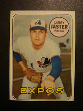 1969-TOPPS BASEBALL CARD #496-LARRY JESTER  MONTREAL EXPOS    NM   *NICE*