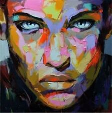 Francoise Nielly Handcraft Portrait Oil Painting on Canvas 60cmx60cm