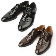 Mooda Mens Leather Oxfords Shoes Classic Formal Lace up Dress Shoes Frain CA