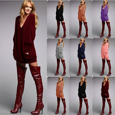 Sexy Women's Casual Loose Blouse T Shirt Tee Batwing Ladies Long Sleeve Tops m5