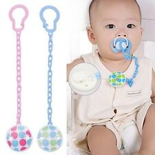 Toddler Toy Infant Boy Pacifier Dummy Chain Clip Baby Soother Hot Holder Girl