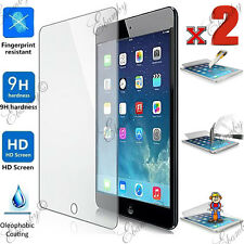 Tempered Glass Screen Protector For iPad 4 3 2 1 Air Mini-Full Retail Package X2