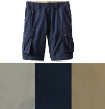 Tommy Hilfiger Boys Cargo Shorts solid cotton youth sizes 6, 8, 10, 12, 18 NEW