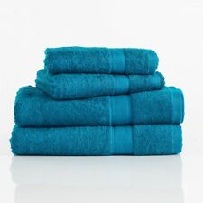 Pure Egyptian Cotton 630GSM Bath Towels, Bath Sheets, Hand, Face & Mat. Peacock