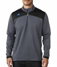A201 adidas Adidas ClimaWarm Plus Half-Zip Pullover Jacket Men Pull Over NEW