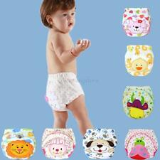 Cute Infant Toddler Kid Baby Cloth Diaper Cover Toilet Training Pants Nappy