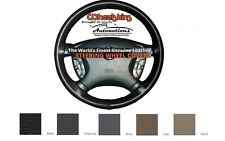Custom Fit Leather Steering Wheel Cover Wheelskins Smooth Perforated 14 3/4 X 4