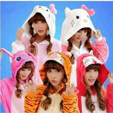 15 Style Unisex Adult Pajamas Kigurumi Cosplay Costume Animal Onesie Sleepwear