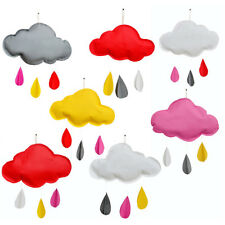 Props Kids Removable Cloud Raindrop Wall Art Stickers Decals Mural Room Decor