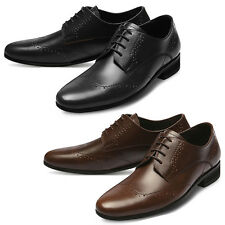 Mooda Mens Leather Shoes Classic Formal Oxfords Dress Shoes BlackDean AU
