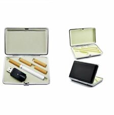 Leather Cigarette Case Holder For Electronic Refill Cig Listing E Lites