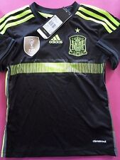 BNWT SPAIN 2013-15 Away Football Soccer Shirt Jersey YOUTH BOYS SIZES