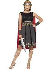 Adult Womens Roman Warrior Costume Legends & Myths Smiffys Fancy Dress Outfit
