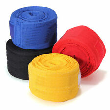MAXSTRENGTH® Hand Wraps Bandages Fist Boxing Inner Gloves Mitts Cotton Pair