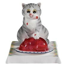 BORDER FINE ARTS STUDIO - COMIC AND CURIOUS CATS - JELLY BELLY - A22197