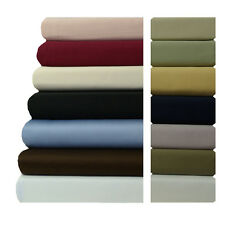 Attached Waterbed Sheet Set 600 TC 100% Luxury Cotton California king OR Queen