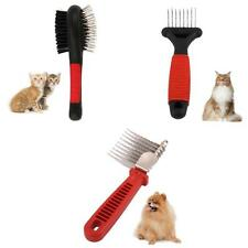 PROFESSIONAL PET DOG CAT HAIR FUR SHEDDING TRIMMER GROOMING COMB BRUSH