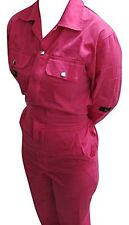 Pink Boiler Suit Pink Coveralls Pink Overalls Size 8 XSmall