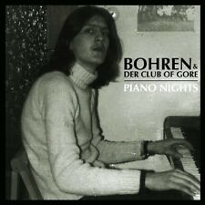 BOHREN & DER CLUB OF GORE - PIANO NIGHTS  CD  9 TRACKS INDEPENDENT ROCK  NEW!
