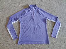 Ladies Callaway Golf Long Sleeve 1/4 Zip Shirt - Size Large, Excellent Condition