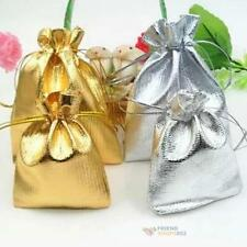 50pcs Organza Wedding Xmas Party Favor Candy Bag Gift Jewelry Packing Pouch #F8s