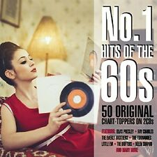 NO 1 HITS OF THE 60S  (THE SHADOWS, ROY ORBISON, ELVIS PRESLEY, ...) 2 CD NEW!