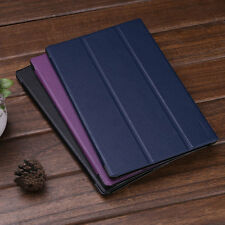 "Leather Folio Stand Sleep/Wake Case Cover For Amazon Kindle Fire HD 10"" Tablet"