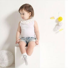 Girl Cute Infant Fashion Cotton Toddler Cartoon Non-slip Baby Socks White Boy