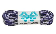 Purple Camouflage Derby Laces Waxed Roller Derby Skate Lace in 60, 72, 84, 96...