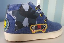 Next Boys Blue Badge Chukka Boots, Sizes Infant 4,5,6,7,8 and Child 11 and 12