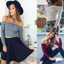 Knitted Casual Pullovers New Sweaters Fit Long Sleeve Fashion Women 1PCS Stretch
