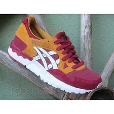 Shoes Asics Gel Lyte V h6s5l 2601 woman running Burgundy Senape White
