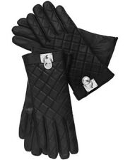 MICHAEL Michael Kors Quilted Leather Hamilton Lock Tech Gloves