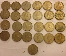 Selection Of Old UK 10p Coins