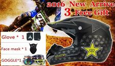 Moto Cross  Racing Helmet Xtreme Sports Off Road for ATV  Dirt Bike With Gift