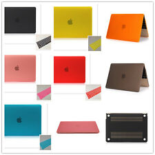 """Slimness Matte PC Hard Case + Keyboard Cover for Macbook Pro Air 11""""12""""13""""15"""""""