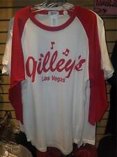 Gilley's Dancehall & Saloon Las Vegas 3/4 Sleeve Shirt L NEW!!!