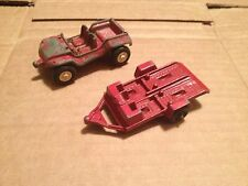 Vintage Tootsie Toy Dune Buggy and  Trailer