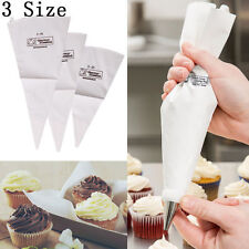 3 Size Disposable Icing Piping Bags Pastry Cake Cupcake Decorating Sugarcraft