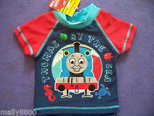 Thomas Tank Engine - Swim Vest Rash Top - Bathers - Select Size - UPF 50+
