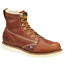 Thorogood 6 Inch American Heritage Wedge Leather 814-4355 Tobacco Lace Up Boot
