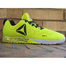 Shoes Reebok Crossfit Nano 6.0 AR3295 Sneakers Running Man Yellow Black Grey