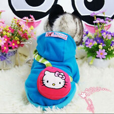 Yorkie Puppy Clothes Dog Hoodie Coat Kitty Pet Cat Costume Poodle Warm Sweater