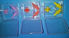 SWIMMING EAR PLUGS AND NOSE CLIP -  Yellow, Orange or Pink - Boxed - Protection