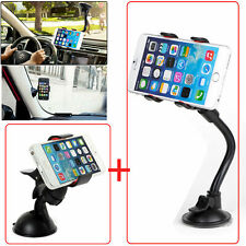 Universal Car Windshield Suction Cup+Dashboard Mount Holder For iPhone 7 Samsung