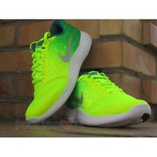 Shoes Nike Lunarstelos GS 844969 700 running Man Green Silver Yellow Fluo
