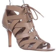 Pour La Victoire Camila Lace-Up Gladiator Sandals - Nude, 10 M US