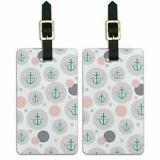 Luggage Suitcase Carry-On ID Tags Set of 2 Sailing Boating