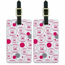 Luggage Suitcase Carry-On ID Tags Set of 2 Celebration Party Shower