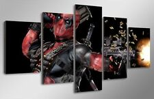 HD Canvas Print Home Decor Wall Art Painting for Living Room Decor Deadpool 5pc